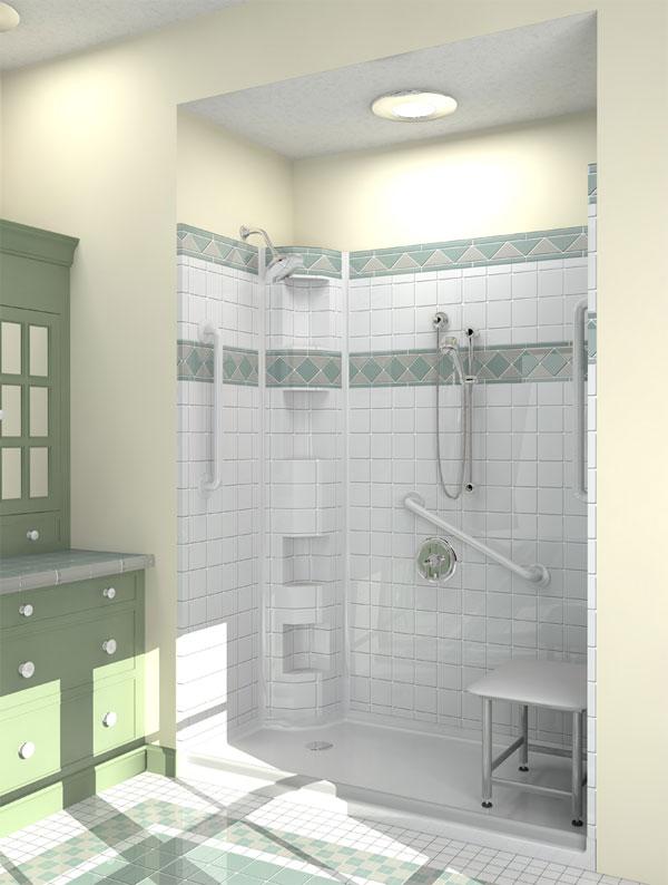 Best-Bath Barrier Free Shower
