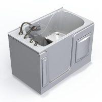 Best Bath Big E XTW6035 Walk-In Soaker Tub