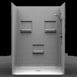 Terrific Handicap Showers Ada Showers Walk In Showers Orca Healthcare Interior Design Ideas Tzicisoteloinfo