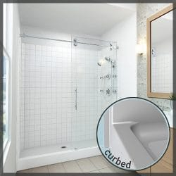 Curbed Showers