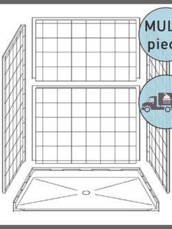 Multi-piece Handicap Shower Packages