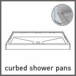 Curbed Shower Pans