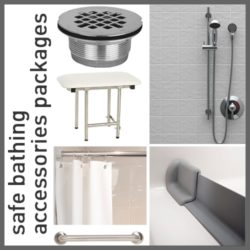 Safe Bathing Accessories Packages