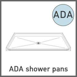 ADA Shower Pans