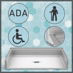 Handicap Shower Pans