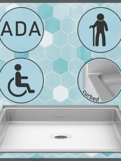 Handicap Shower Pans
