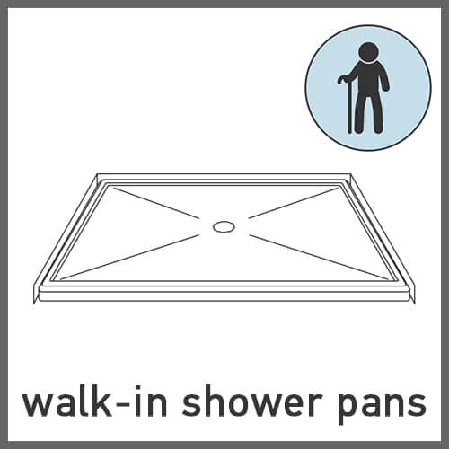 Walk-in Shower Pans