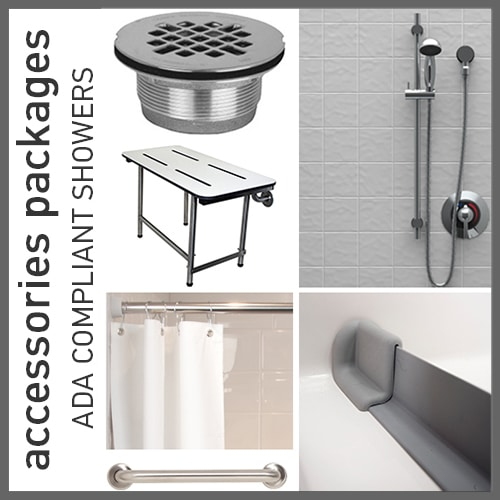 Accessories Packages for ADA Compliant Showers