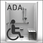 ADA Compliant Showers