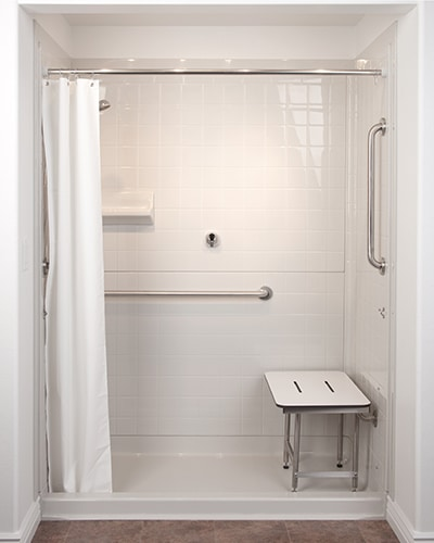 Heavy Weighted Shower Curtains