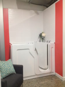 Escape Plus walk-in tub