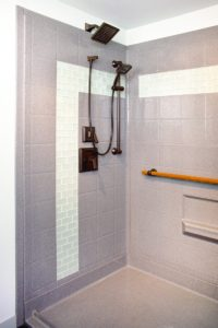 designer walk-in showers | orca healthcare supplies