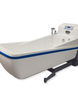 Authentic height adjustable bathtub