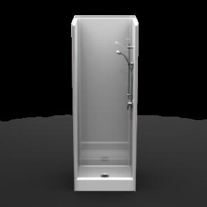 30 inch x 30 inch shower stall
