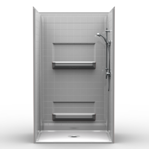 4LRS4834B5T 48 inch Shower Stall Speed-It-Up Shower Packages