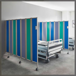 ropimex® RFW folding screens (mobile and wall-mounted)