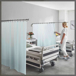 ropimex® RTS Swing-out telescopic privacy screens