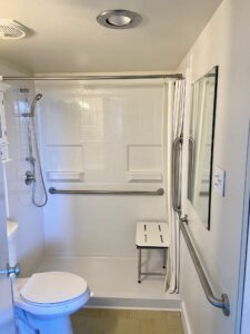 Mobile Home Shower Stall Installation